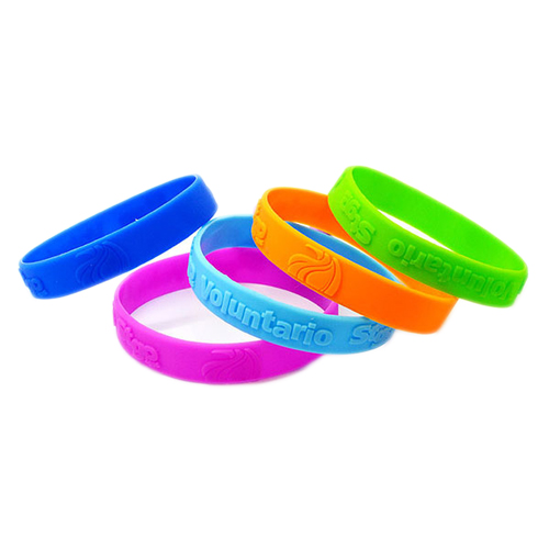 Promotional Embossed Wristbands are a great way to promote your brand.