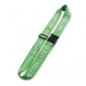 Promotional Woven Luggage Strap