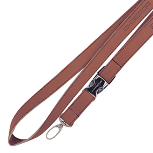 Custom Faux Leather Lanyards