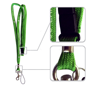 Recycled lanyard