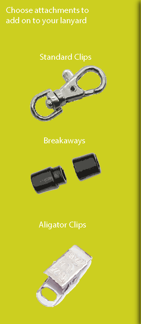 Clips for your Lanyards