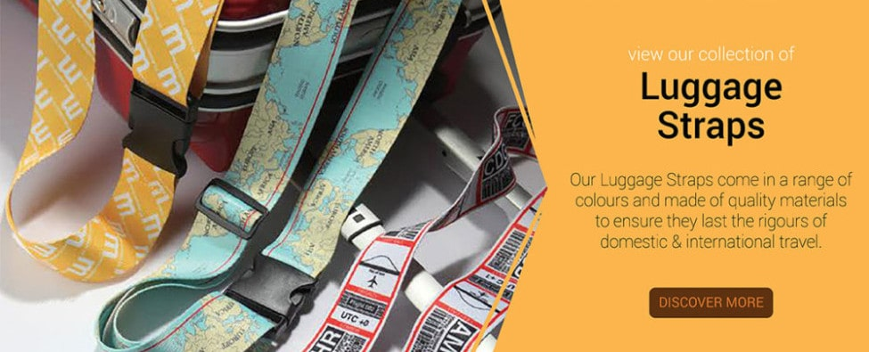 Printed Promotional Luggage Straps